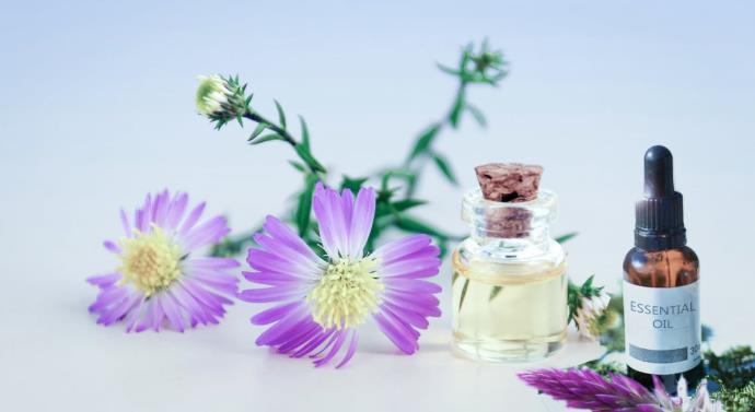 精油,紫罗兰,花朵